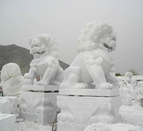 狮子雕塑 (5)